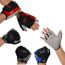 Runnning Sports Gloves Cycling Bike Motorcycle Half Finger Short Outdoor Hiking $5.19