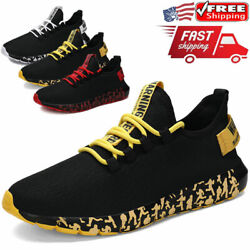 Men#x27;s Athletic Sneakers Running Outdoor Casual Walking Tennis Gym Sports Shoes $20.99