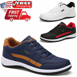 Men#x27;s Athletic Shoes Outdoor Running Fashion Casual Walking Tennis Sneakers Gym $26.99