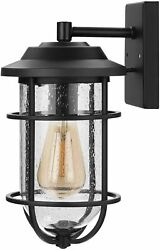 DEWENWILS Outdoor Wall Lamp Exterior Wall Sconce Weather Resistant Porch Light