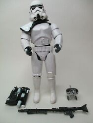 1999 HASBRO 12quot; STAR WARS MODERN 1 6 SCALE LOOSE ACTION FIGURE SAND TROOPER $19.95