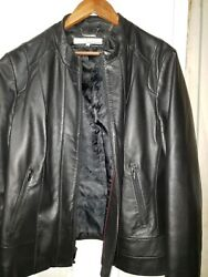 Wilson Womens Leather Jacket Size XXL Black. Good condition. Preowned. $42.00