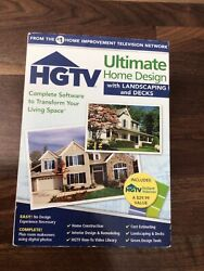 HGTV Ultimate Home Design w Landscaping and Decks Software $22.99