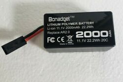 Replacement Battery For PARROT AR.DRONE 2.0 Quadricopter 2000mAh 11.1V 20C $18.90