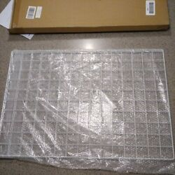 SONGMICS Grid Photo Wall Set of 2 16.5 x 12.2 Inches Wire Wall Grid Panel LPP02 $15.00