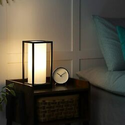 DEWENWILS Dimmable Table Lamp Bedside Lamp with LED Dimmable Bulb 2 USB Port $39.96