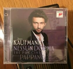 Nessun Dorma: The Puccini Album • New SEALED • Jonas Kaufmann • Sony Classical $7.01