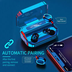Wireless Earphones TWS Bluetooth 5.0 Earbuds Stereo In Ear For iPhone Samsung $14.29