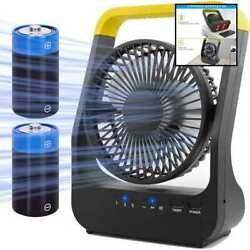 Battery Operated Fan Super Long Lasting Fans For Camping Portable D Cell Powered $42.17