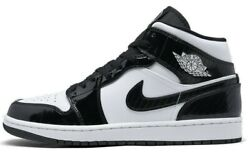 Air Jordan 1 Mid All Star Carbon Fiber Retro Black White DD1649 001 $169.00