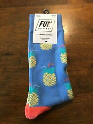 Fun Socks Men Women Crew Combed Cotton Dress Socks Size 10 13 shoe size 6 12 $8.09