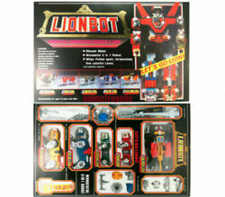 DHL Voltron Defenders of the Universe Lionbot 1980 Super Diecast Taiwan Ver New $133.88