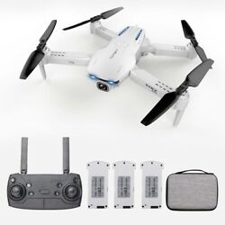 GoolRC S162 RC Drone with Camera GPS Adjustable Wide Angle 4K 5G WIFI $190.00