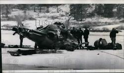 1980 Press Photo Helicopter accident Army National Guard West Medical Lake $19.99