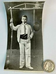 1900 Louis Geisler Champion Bag Puncher Boxing Photo Rochester NY Arch Merrill $34.99