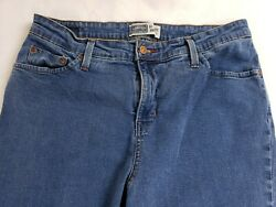Levi Strauss amp; Co Signature Womens At Waist Bootcut Blue Jeans Size 14 Large $17.95