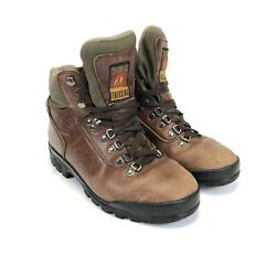 TECNICA TREKKING Women's Brown Leather Mountain Hiking Trail Boots Size 8.5 $49.99
