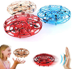Mini Drone for Kids Adults Flying Ball Hand Controlled Quadcopter Light Up Flyi $33.29
