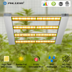2000W Dimmable Commercial LED Grow Light Sunlike Full Spectrum Plant Lamp 4x4ft