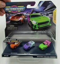 Micro Machines Series 4 Micro Color Phase New $14.99