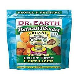 Dr. Earth 708P Organic 9 Fruit Tree Fertilizer In Poly Bag 4 Pound $16.39