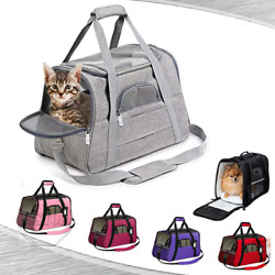 Pet Dog Small Cat Carrier Bag Comfort Travel Tote Case US Airline Approved $19.52
