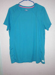 SPALDING Size 1X ATHLETIC T Shirt SPEED DRI Running SHORT SLEEVES Workout Top $14.77