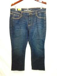 Old Navy 14 Short 14S NWT Blue Jeans Sweet Heart Boot Cut Classic Rise Stretch $12.99