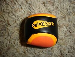 OGLO sports orange and black 2quot; Hacky Sack $7.00