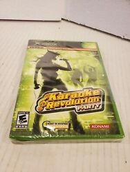 Karaoke Revolution Party For X Box 2005 Sealed Konami $9.99