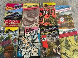 SVEN HASSEL books Lot of 8 Lightly Used and in Good Condition $21.83