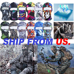 Men Women Motorcycle Cycling Windproof Balaclava Tactical Face Cover Neck Hood $5.99