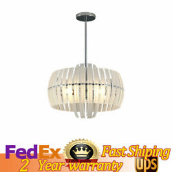 23.6quot; Modern Crystal Chandeliers Ceiling Lamp Glass Strip Hanging Lighting E12 $118.02
