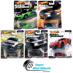 Hot Wheels 2021 Fast amp; Furious Fast Stars L case Set of 5 Cars In Stock $29.98
