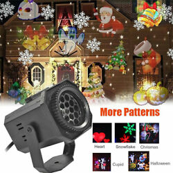 New Christmas Lights Projector LED Laser Outdoor Landscape Xmas Move Lamp Xmas