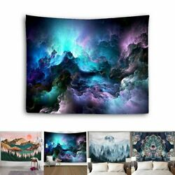 US Hippie Psychedelic Mandala Tapestry Wall Hanging Blanket Home Room Decoration $12.11