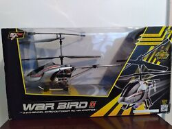 War Bird 3.5 channel gyro outdoor RC Helicopter $40.00
