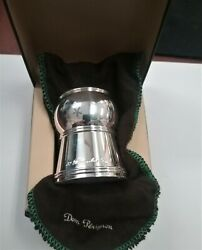 Dom Perignon Keepsake Cork Holder * Ecrin Bouchon * Silver plated $69.00