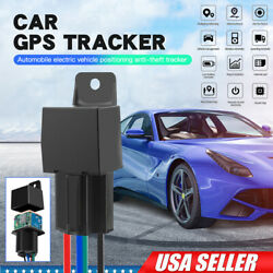 GPS Car Tracker Real Time Device Locator Remote Control Anti theft Hidden 10 40V $18.99