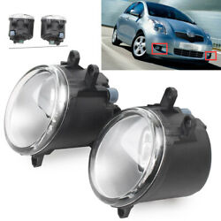 Car Clear Fog Light Lamp amp; Switch amp;Wiring Fit Toyota Yaris Hatchback 2006 2008 $52.47