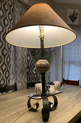 antique lamp $60.00