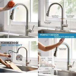 Tenlo Touch Kitchen Faucets With Pull Down Sprayer Automatic Kitchen Faucet Wit $124.66