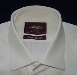 MEN#x27;S THOMAS PINK WHITE FORMAL SHIRT 15 31quot; SHIRTS DESIGNER SHIRTS.