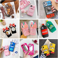 Cute 3D Cartoon Silicone Kid Case For iPhone 12 Pro 11 Pro Max 7 8 Plus XR Cover $9.79