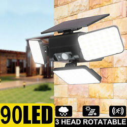 600LM Commercial LED Solar Street Light Motion Sensor Dusk to DawnRemotePole