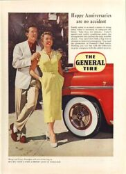 Marge amp; Gower Champion for General Tire ad 1953 $9.99
