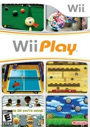 Wii Play Game Only Wii Game $4.97