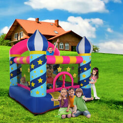 Yyao Kids Castle Bouncer For Ages 3 6 Inflatable Castle 420D Oxford Cloth $263.71