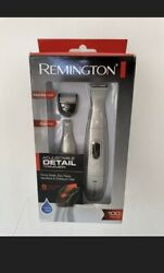 NEW Remington Trimmer Kit Battery Operated Precision Grooming System Silver $18.99