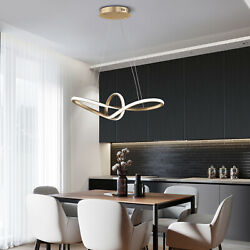 Remote Control Led Ceiling lights 2 Rings Hanging Ceiling Lamps For Living Room $138.00